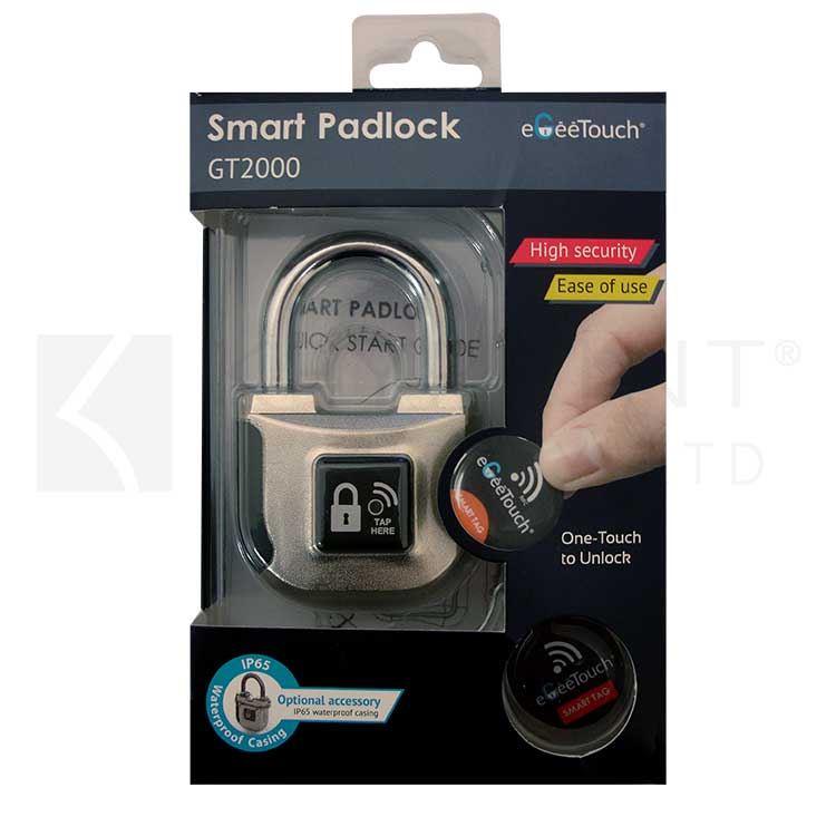 Electronic Pad Locks : Smart electronic padlock keyprint security ltd
