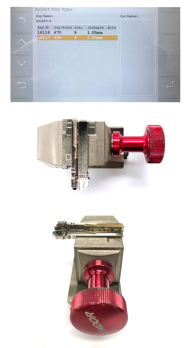 Xhorse Condor Mini How To Cut Hu162t Key Blanks Keyprint Security Ltd