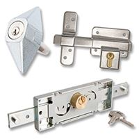 Picture for category Bullet Pin, Gate & Shutter Locks