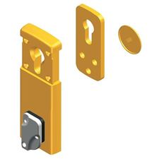 Picture of DISEC Mini-Magnet Escutcheon - 110 x 40mm