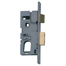 Picture of Oval Profile Deadlatch For Aluminium Doors