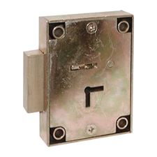 Picture of 7 Lever Pillared Post Office Lock - Deadbolt