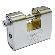 Picture of WKS Armoured Padlocks - Keyed Alike - Boxed