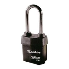 Picture of 54mm Master ProSeries 6121LJ Re-Keyable Long Shackle Padlock
