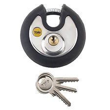 Picture of 70mm Weatherproof Anti-Cut Discus Padlock