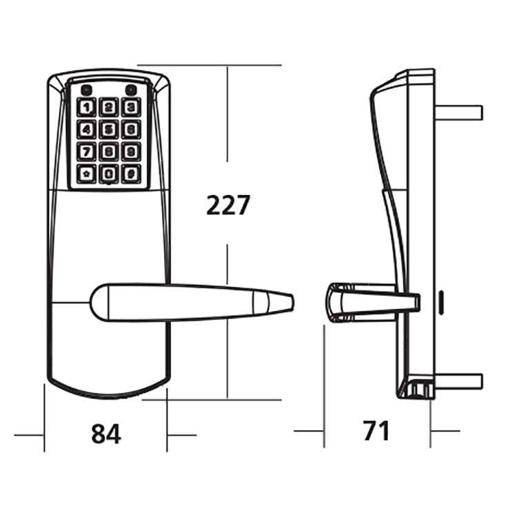 Kaba E Plex 2000 Digital Lock Medium Heavy Duty