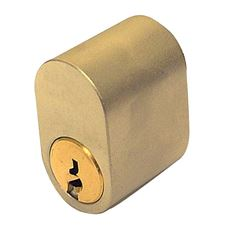 Picture of ASSA 5 Pin External Scandinavian Single Cylinder (PB)