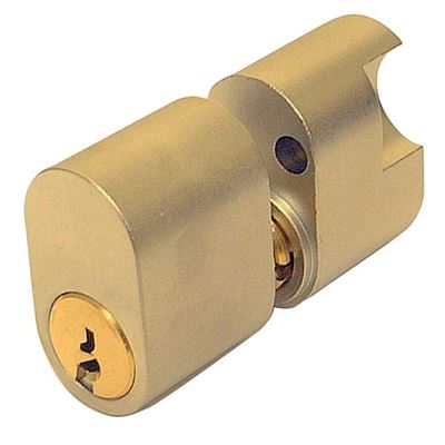 Picture of ASSA 5 Pin External/Internal Scandinavian Double Cylinder (PB)