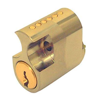 Picture of ASSA 6 Pin Internal Scandinavian Single Cylinder (PB)