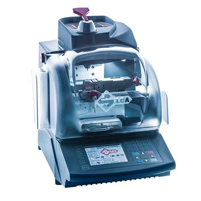 Picture of Silca TRIAX PRO Electronic Dimple/Laser Key Cutting Machine