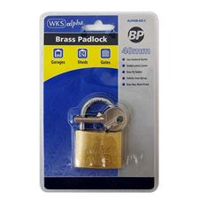 Picture of WKS Brass Padlocks - Blister Packed