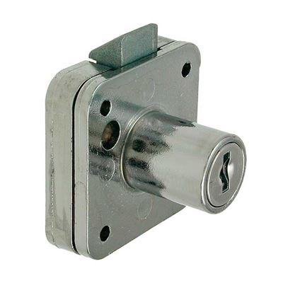 Picture of 19mm Rim Lock Slam Action - Cylindrical Head (Screw Fix)