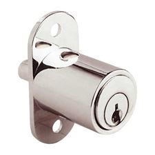 Picture of Dowel Push Button Lock for Sliding Doors - KA