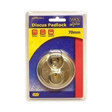 Picture of WKS 70mm Discus Padlock Blister Packed