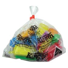Picture of Kevron Giant Clicktags Key Tags Assorted Colours - Bag of 25
