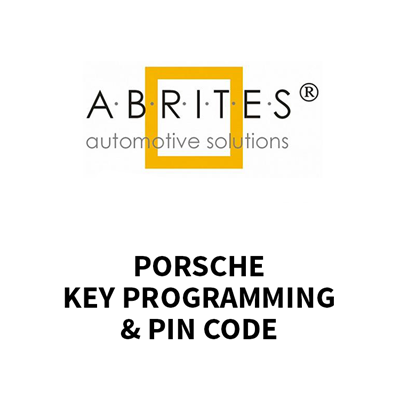 PO007 Key Programming and Pin Code for Porsche - Keyprint
