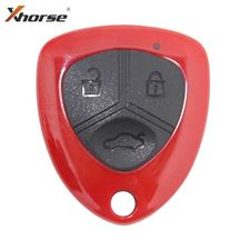 Picture of Xhorse Universal Wireless Remote - Ferrari Style Red (With Transponder)