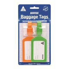 Picture of Kevron Baggage Tags - Blister Packed - Assorted Colours