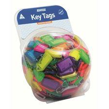 Picture of Kevron Clicktags Key Tags Assorted Colours - Counter Display