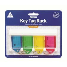 Picture of Kevron Key Tag Rack With 4 key Tags