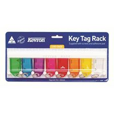 Picture of Kevron Key Tag Rack with 8 key Tags