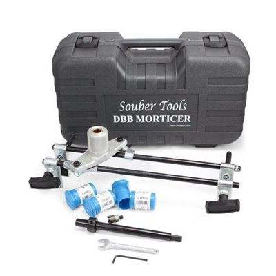 Picture of Souber Tools Morticer Standard Complete With 3 Carbide Wood Cutters