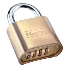 Picture of 51mm Master Keyless Combination Brass Padlock
