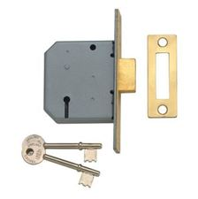 Picture of Union 2177 - 3 Lever Mortice Deadlocks - Blister