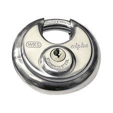 Picture of WKS 70mm Discus Padlock Keyed Alike (KA1)