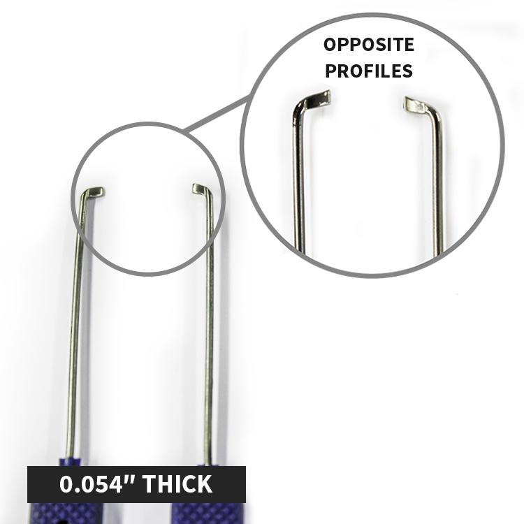 Euro Thumb-Turn Bypass Kit (Set Of 4) - Keyprint Security Ltd