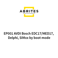 Picture of EP001 AVDI Bosch EDC17/MED17, Delphi, SIMxx by boot mode