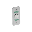 Picture of Stainless Steel Exit Button Narrow Style - Flush