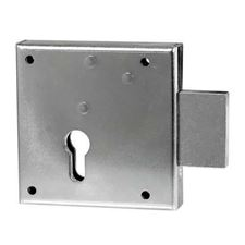 Picture of Gate Lock No.100 - Left Hand Rim Lockcase Euro Profile 65mm Backset