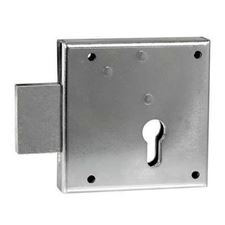Picture of Gate Lock No.100 - Right Hand Rim Lockcase Euro Profile 65mm Backset