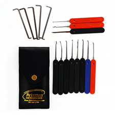 Picture of Peterson Ken's Government Steel lock pick set