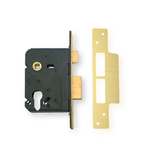 Picture of WKS Euro Profile Sash Lockcases - Polished Brass