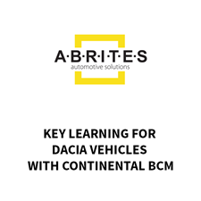 Picture of RR020 - AVDI Key Learning For Dacia vehicles with Continental BCM