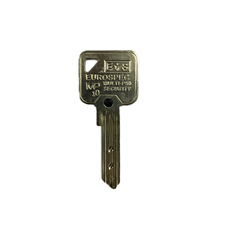 Picture of Genuine EUROSPEC MP10 Cylinder Key Blank