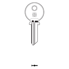 Picture of Silca FF17 Cylinder Key Blank for F.F.