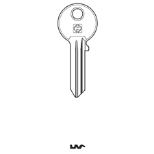 Picture of Silca IE27R Cylinder Key Blank for Iseo