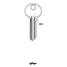 Picture of Silca RU11R Cylinder Key Blank for Ruko