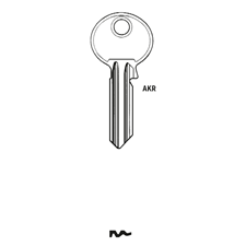 Picture of Silca RU20 Cylinder Key Blank for Ruko