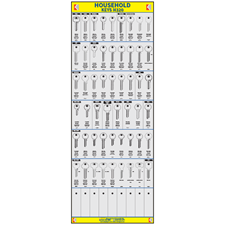 Picture of Household Cylinder Key Board H320