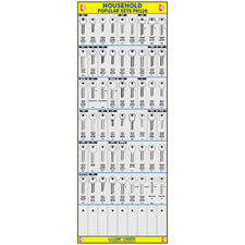 Picture of Popular Household Cylinder Key Board PH120