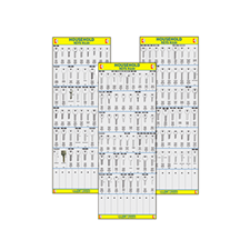Picture of Full Set of Household Cylinder Key Boards
