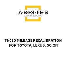 Picture of TN010 Mileage Recalibration  for Toyota, Lexus, Scion