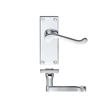 Picture of Victorian Scroll Lever Handle on Latch