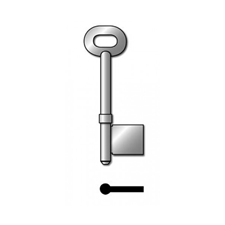 Picture of RST 36/5 UNIVERSAL MORTICE KEY BLANK - 5G