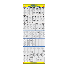 Picture of Popular Mortice Key Board PM120