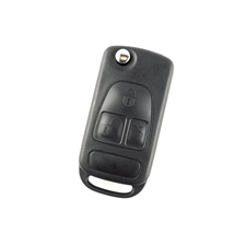 Picture of KR55 3-Button Remote Flip Key HU64 blade